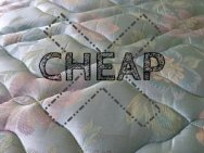 cheap mattress alternatives