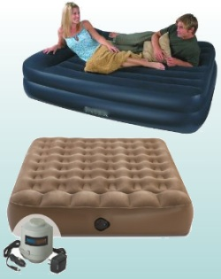 inflatable mattresses for house guests